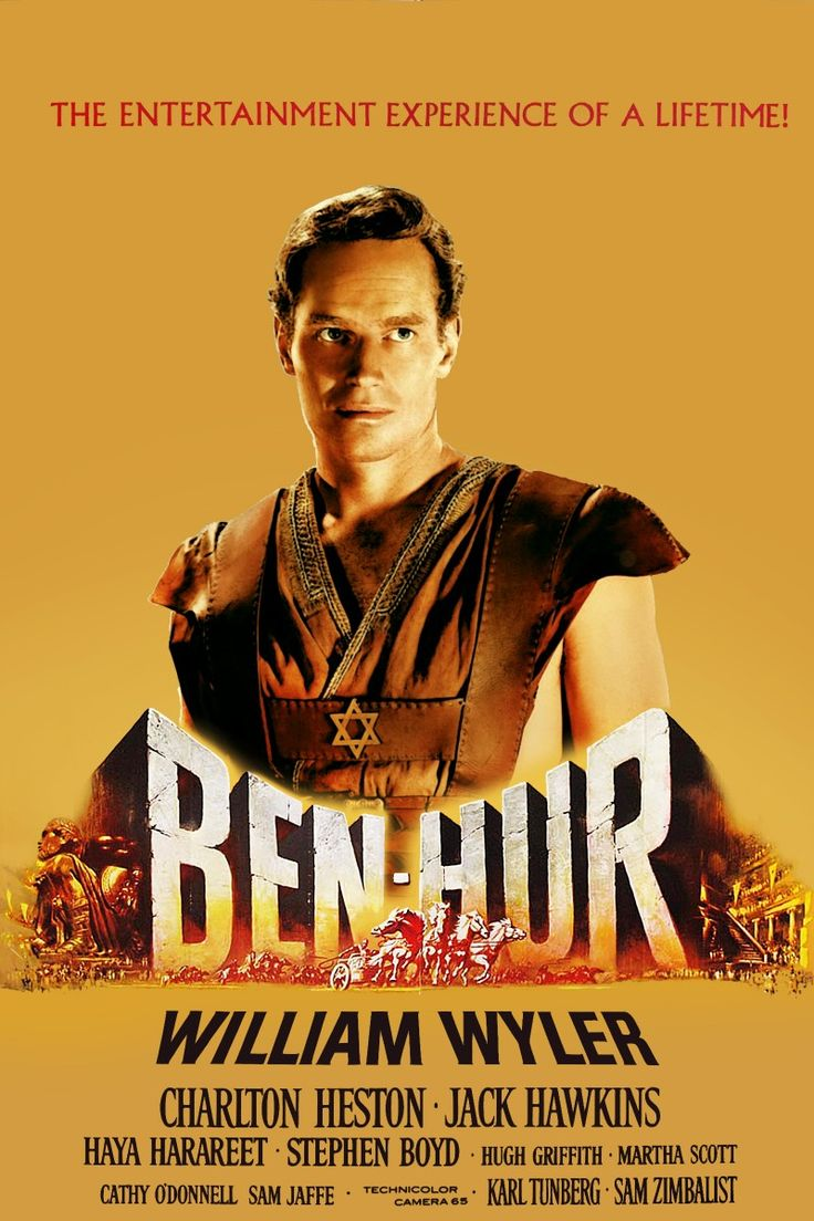 1959 movie posters | Ben-Hur (1959) Movie Poster.