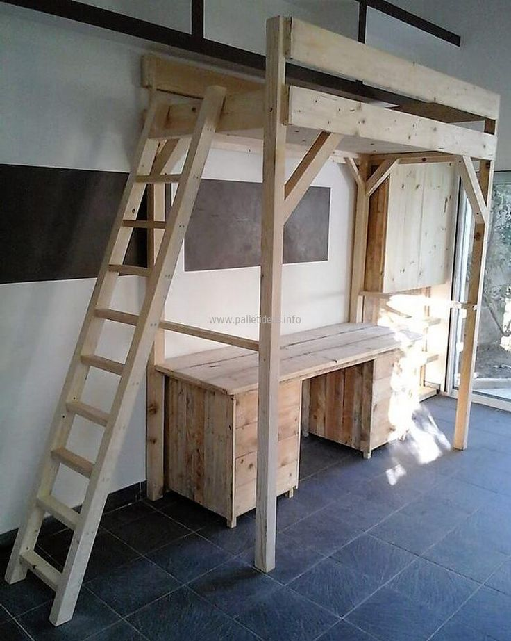 50 Awesome Wood Pallet Ideas For This Summer. Pallet Bunk BedsPallet HouseBed  TableWood ... Part 96