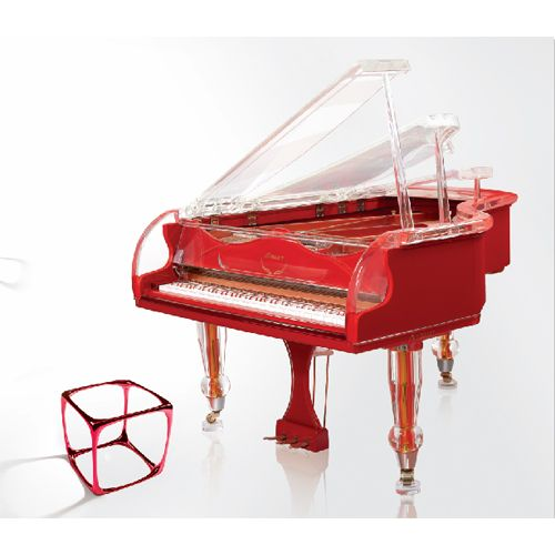Wonderful art in this piano bench : http://adjustablepianobench.net