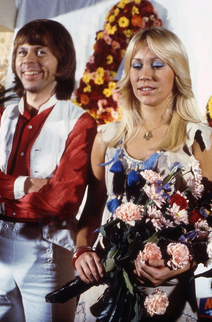 Photos of Agnetha and Björn together | ABBAChat