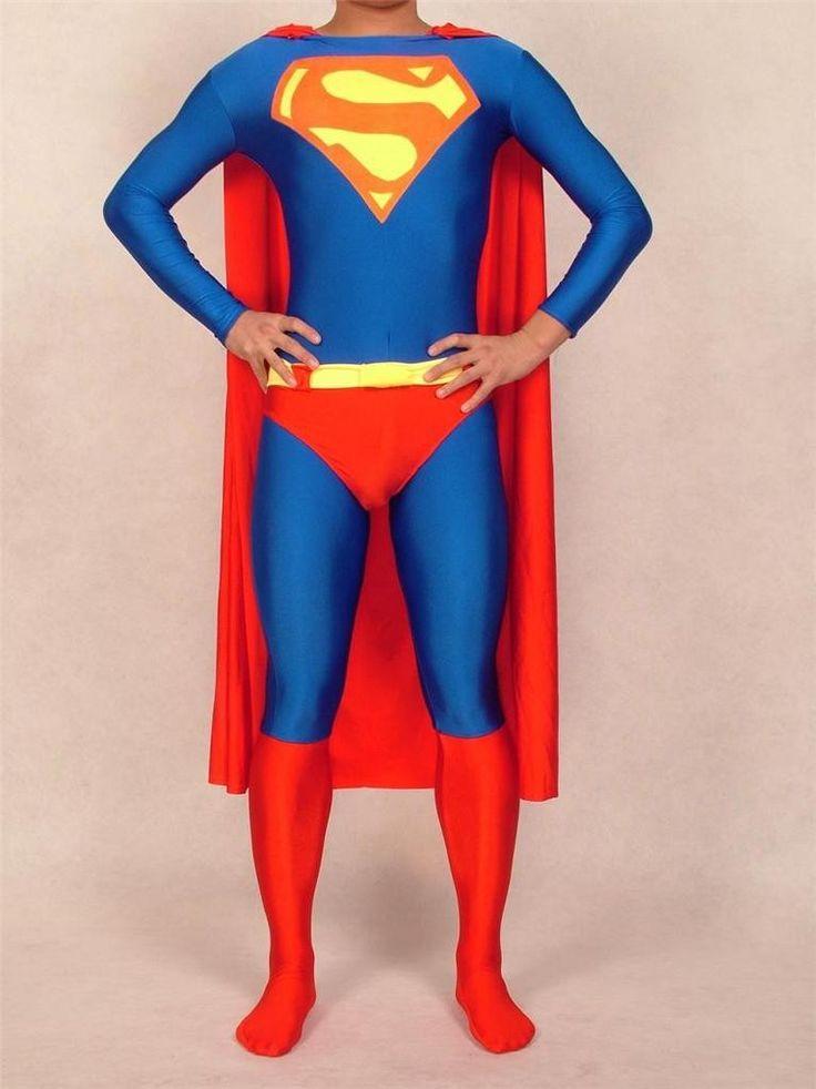Дешевое 2015 взрослых красный и синий высокая гибкость супермен костюмы из лайкры и спандекса зентаи супергерой костюмы мужская хэллоуин костюмы, Купить Качество Мужские костюмы непосредственно из китайских фирмах-поставщиках: Adult Black Spiderman Costume 2015 Halloween Costume Lycra Spandex Carnival Superhero Cosplay Bodysuit Zentai Spider-man