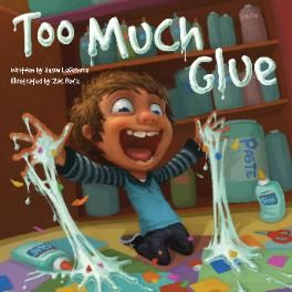 Too Much Glue Great for first day of gluing with Kinders