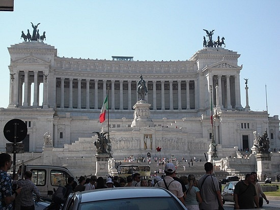 Capitoline Hill in Rome, Italy. Open Spaces Pinterest