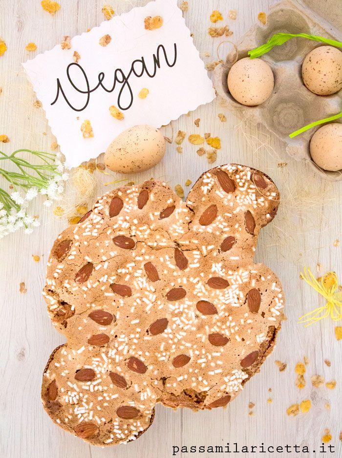 Colomba di Pasqua Vegana con Glassa, Ricetta Facile