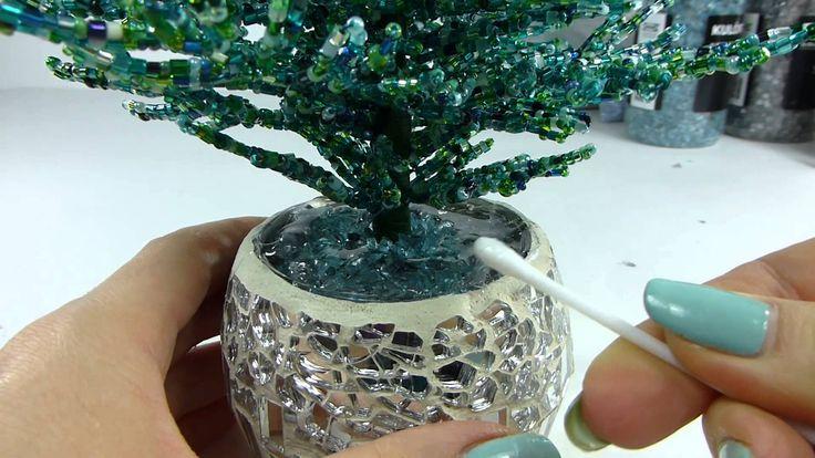 Голубая ель. Урок 5 - Посадка и декорирование / Blue spruce. Lesson 5 - ...