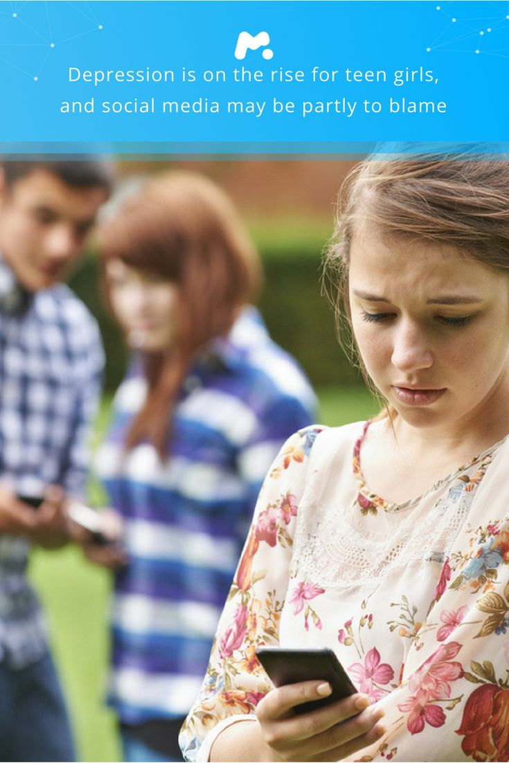 Depression Is On The Rise For Teen Girls, And Social Media May Be Partly To  Blame