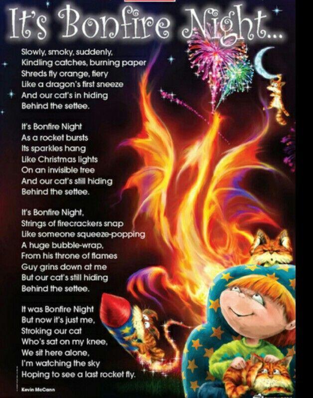 It's Bonfire Night.  . .