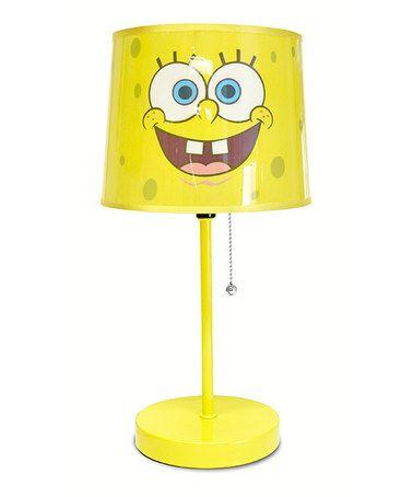 Loving this SpongeBob SquarePants Table Lamp on #zulily! #zulilyfinds