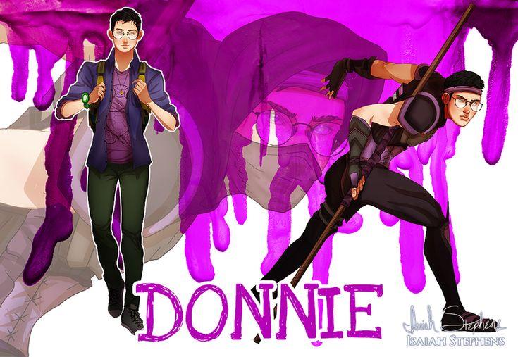 Human Ninja Turtles: Donnie by IsaiahStephens on DeviantArt