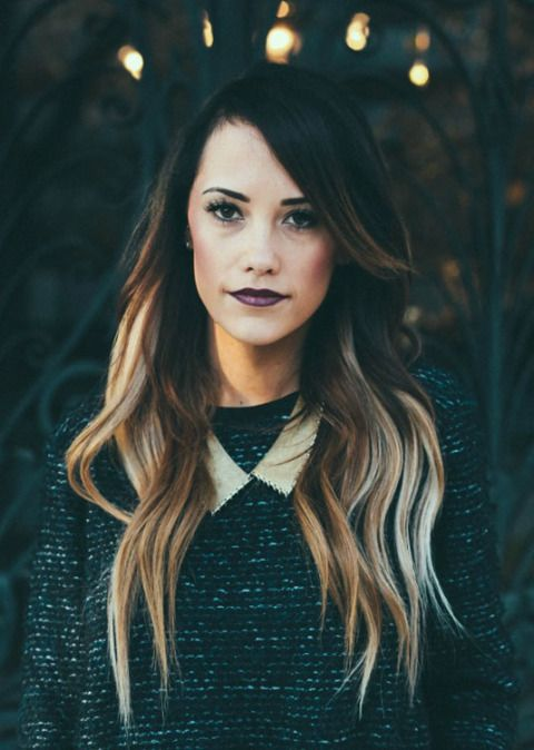 12 of the best #ombre #hair looks of all time - like this DEEP to #PLATINUM beauty. Fall MUST!