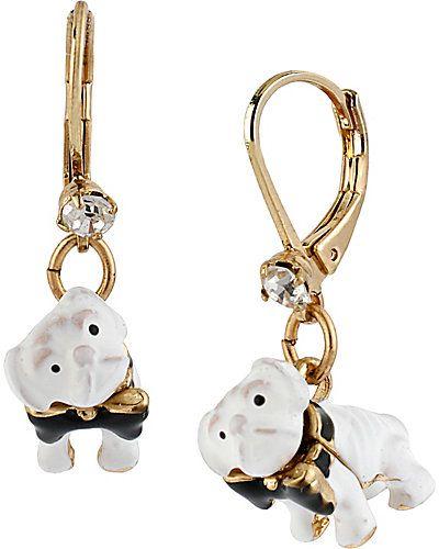 Paris Dog Earring Betsey Johnson 2013 Betsey Johnson
