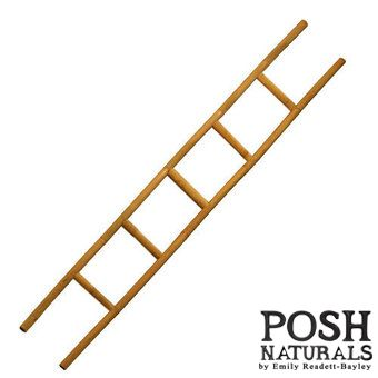 Bamboo Decorative Clothes Ladder 200cm