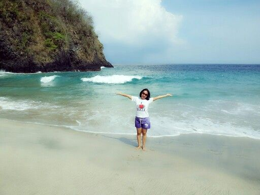 #Virgin Beach Karangasem (pantai pasir putih)