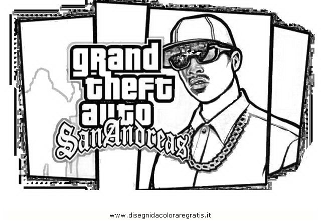 gta 5 coloring pages for boys