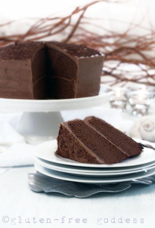 Gluten-Free Chocolate Layer Cake   Gluten-Free Goddess®   Bloglovin'