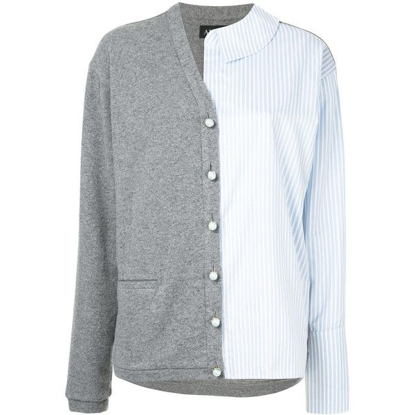 Anouki Half-shirt Jacket ($519) ❤ liked on Polyvore featuring shirt jacket