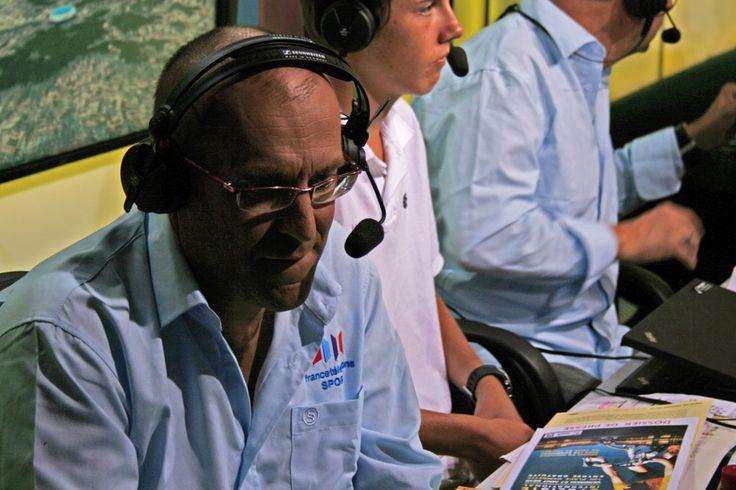 Laurent Fignon se battait contre la maladie depuis plus d'un an mais il avait assuré le commentaire des étapes du Tour jusqu'à l'été dernier - © Vélo 101  Toute reproduction, même partielle, sans autorisation, est strictement interdite