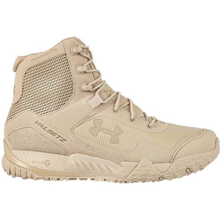 The UA Valsetz RTS Tactical Boots are a favorite for military & law enforcement and a notch up from the original Valsetz. Using the same Micro G® cushioning from UA running shoes makes them even more
