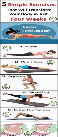 Follow this program for 10 weeks and watch your belly fat melt away!