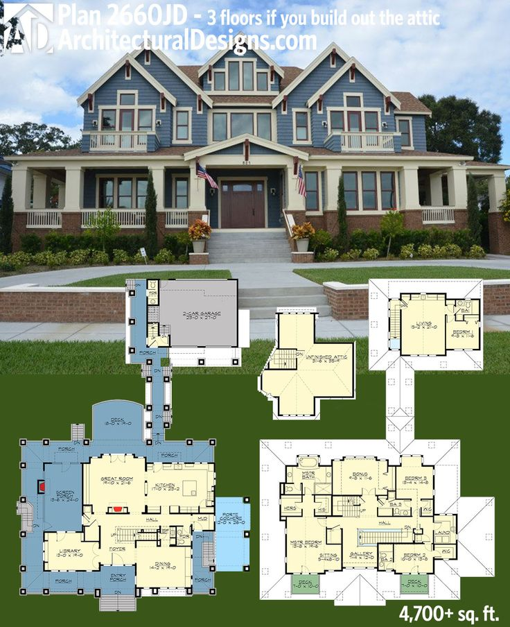 Plan 23660JD Stylish Northwest House Plan with
