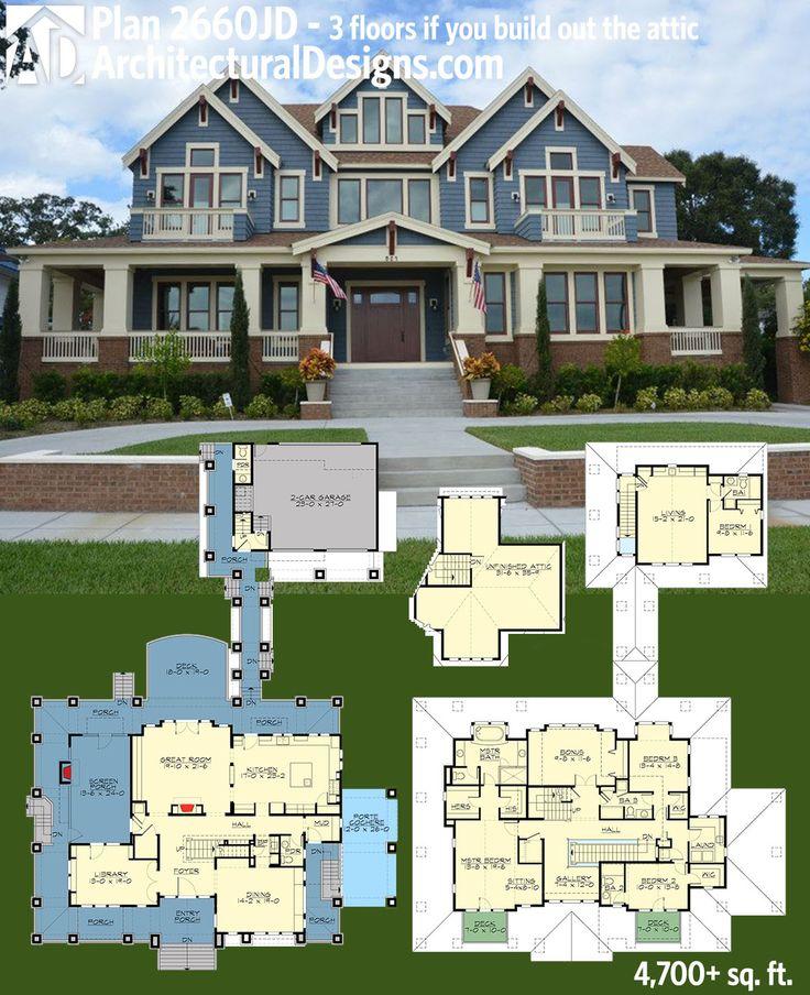 Plan 23660JD Stylish Northwest House Plan With Garage Apartment Design Och