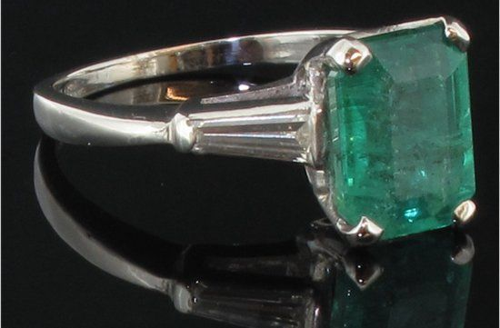 Love this! angelina jolie engagement ring emerald cut diamond engagement rings vintage Ken Dana #Vintage Engagement Rings, #Vintage, #Ring, #Ken, #Jolie, #Engagement, #Emerald Cut, #Emerald, #Cut, #Angelina Jolie, #Angelina, #Diamond Engagement Rings, #Diamond, #Dresses and Fashion, #Classic, #Rings