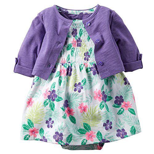 Carter's Baby Girls' 2 Piece Floral Dress Set Purple/Flor... https://www.amazon.com/dp/B01CBSQ53Y/ref=cm_sw_r_pi_dp_5aOFxbPMCVGKG