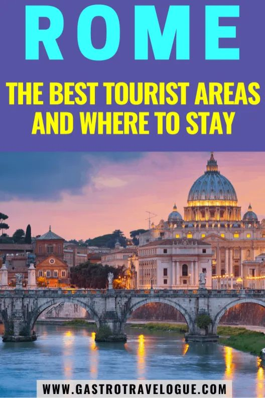 WHERE TO STAY IN ROME – THE BEST AREAS AND HOTEL GUIDE –