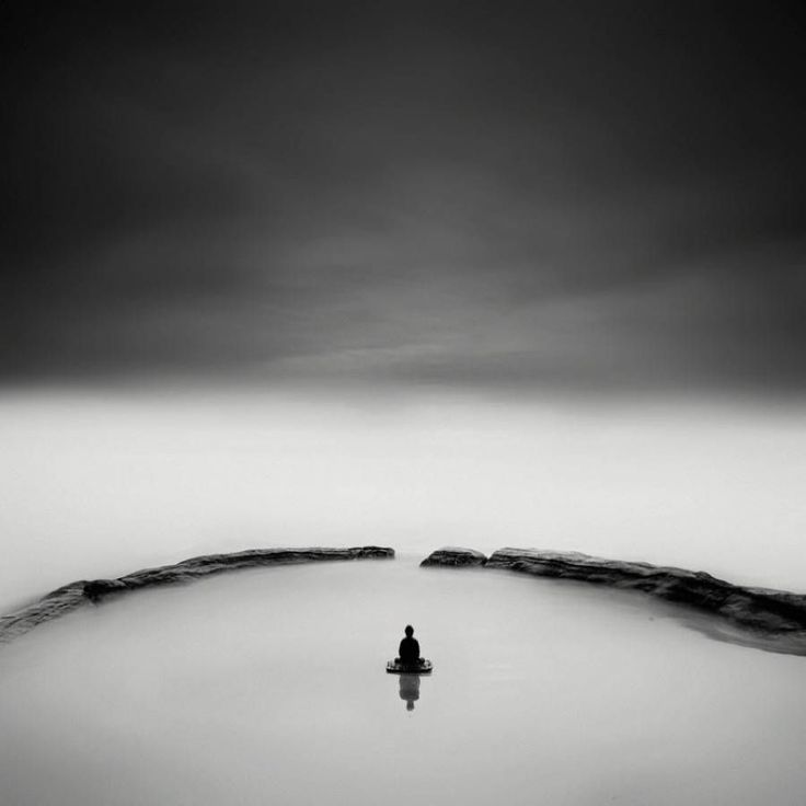 Buddha Zen Black and White Photography  Californian photographer Nathan Wirth about whom we wrote previously is behind a new collection of pictures in which he stages a Buddha sculpture in mysterious landscapes. By using very contrasted black and white shades and the long exposure technique he gives a zen atmosphere that matches with the meditation that is inspired by Buddha.             #xemtvhay