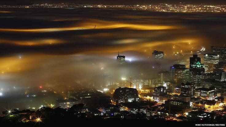 Foggy Cape Town!!
