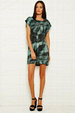 Won Hundred Dress in Snake Print at Urban Outfitters