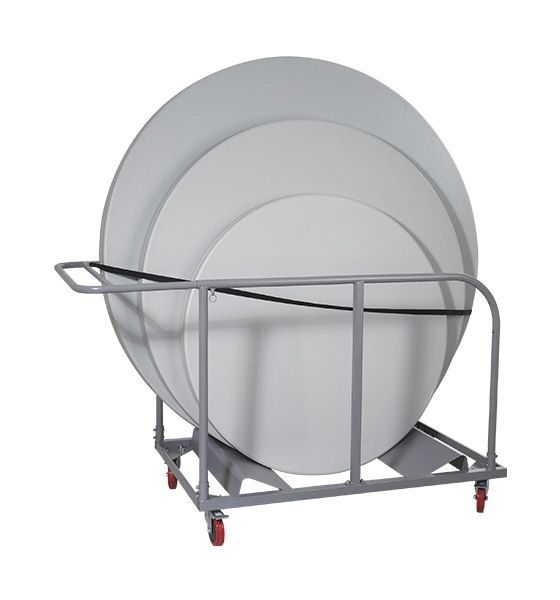 Round Folding Table Cart-Transporter for 48', 60' & 72' Round Tables