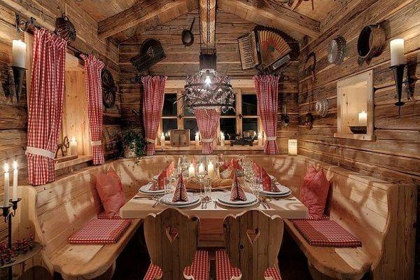 Inns Holz in #Austria #festivedinner Discover this holiday village at http://impressivemagazine.com/2013/12/11/winter-holiday-village-bohemian-forest-austria/