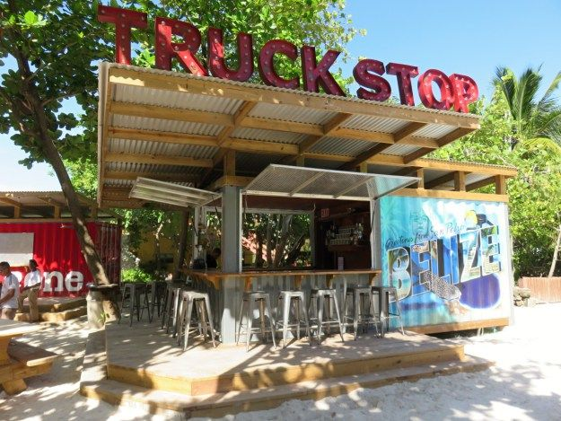 Truck Stop, Ambergris Caye, Belize