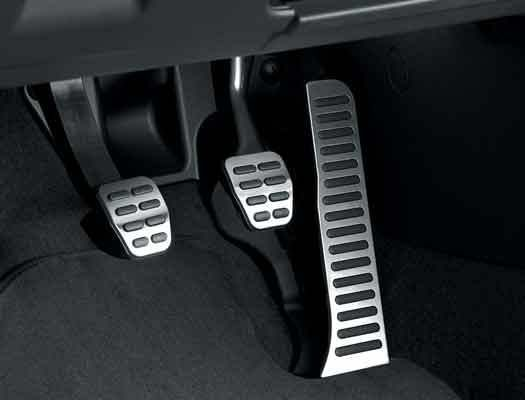A beautiful way to upgrade your interior, the Genuine OEM 2009-2015 Vw Jetta Sportwagen Pedal Covers (G024) create a custom, sporty touch to your car!