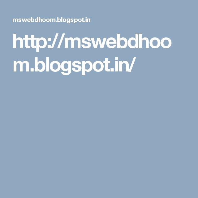 http://mswebdhoom.blogspot.in/
