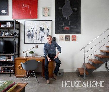 Actor Callum Keith Rennie's Vancouver Loft   House & Home