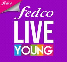 ¡Recibe grandes beneficios inscribiéndote en http://www.fedco.com.co/liveyoung.aspx!