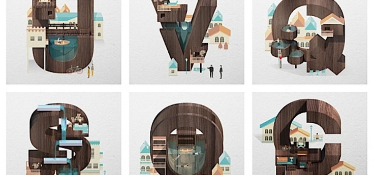 Resort Type Illustrations | Abduzeedo | LOUIS