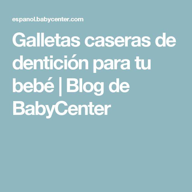 Galletas caseras de dentición para tu bebé | Blog de BabyCenter