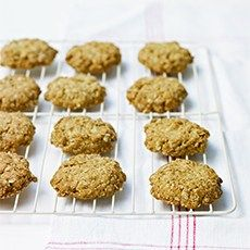 Crystallised Ginger Oat Biscuits