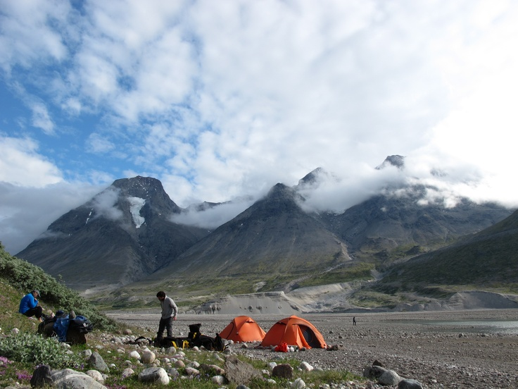 Montañas en el ártico