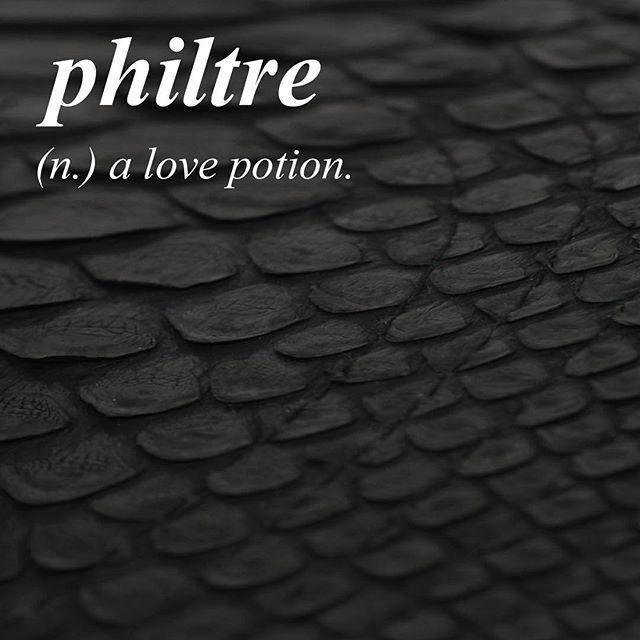 •French• \\fil'ter\\ To enchant with or as if with a philtre.