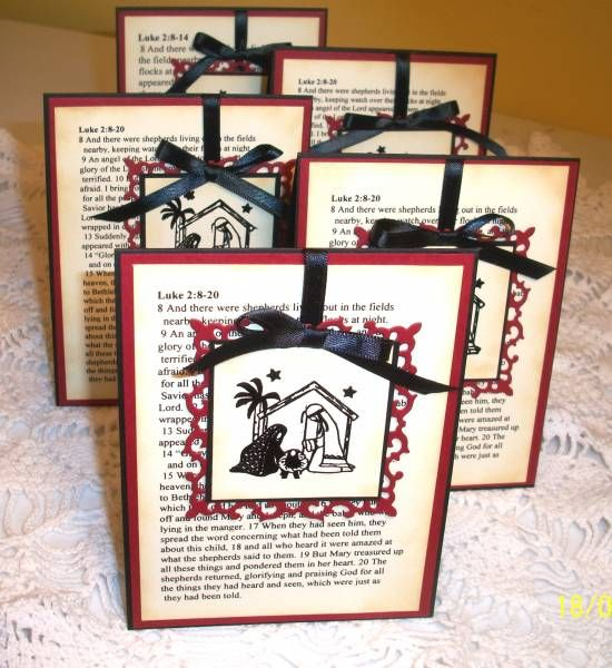 CCC12 - Nativity collection of 5 by ohmypaper! - Cards and Paper Crafts at Splitcoaststampers