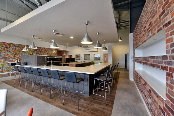 Creative  Now Use This Break Room For Eating Socializing And Collaboratin