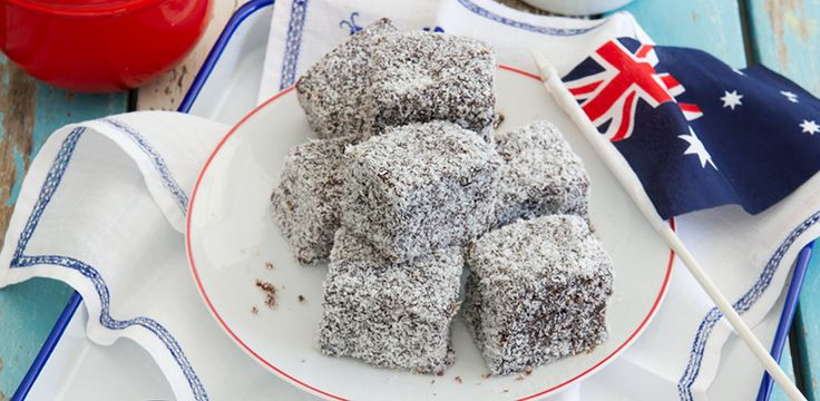 Celebrate Australia Day With Our Low-Calorie Lamingtons!