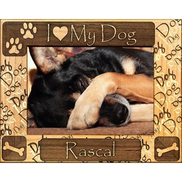just4mypetcom personalized i love my dog picture frame dog supply catalogs deals and lots of puppies pinterest dog picture frames love my dog and