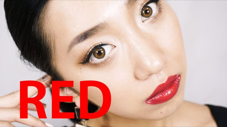 RED LIPS Makeup - YouTube