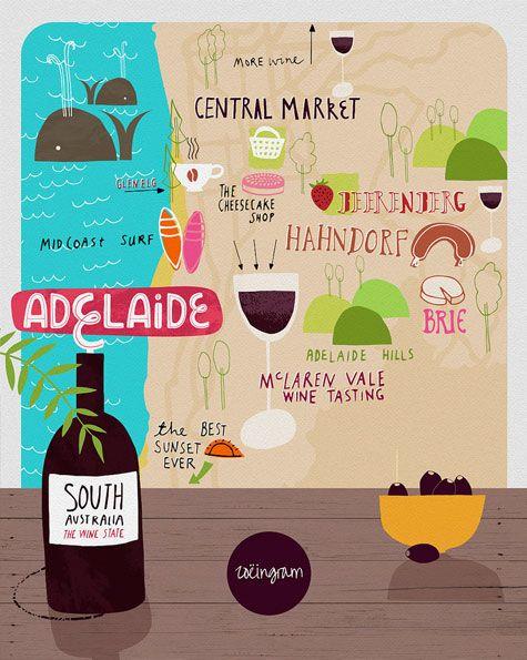 Zoe Ingram - Map of Adelaide