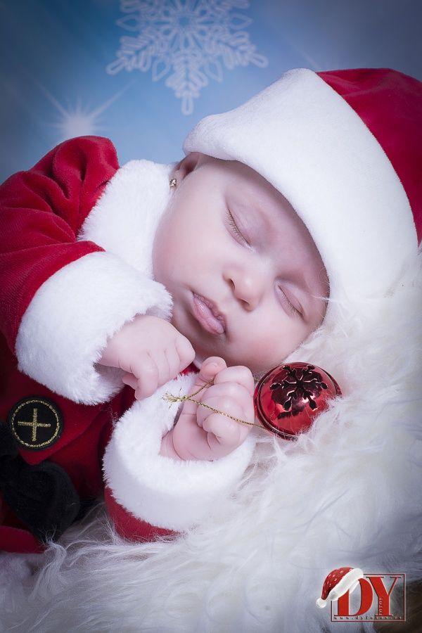 Sesiones de bebes en Navidad